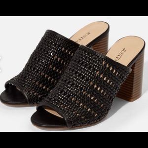 Braid With Me Slip On Mule Beautiful comfy 8 1/2